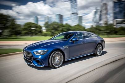 The Mercedes Amg Gt Four Door Coupé Is A Bona Fide Family Supercar