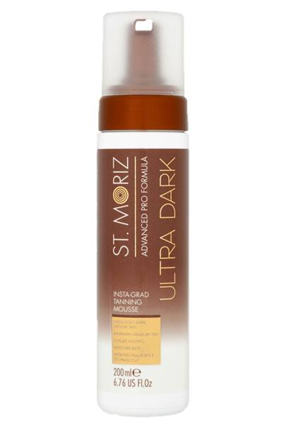 Ultra dark insta-grad tanning mousse by St.Moriz