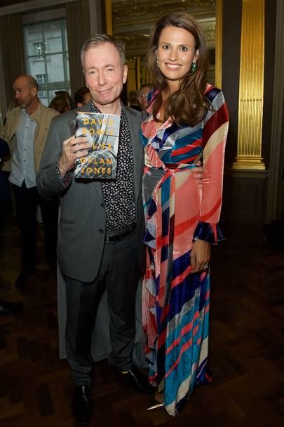 Tony Parsons and Olivia Cole