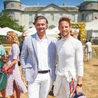 Laurent Feniou and Jenson Button