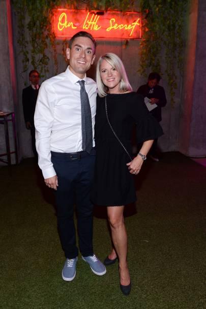 James Mullinger and Pam Mullinger