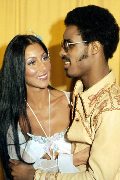 1974: Cher and Stevie Wonder