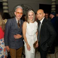 Patrick Cox, Catherine Hayward and Jason Basmajian
