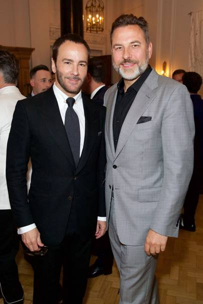 Tom Ford and David Walliams