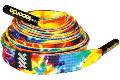 Tie dye shoelace belt by Lacorda