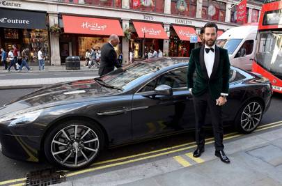 Give your black tie some colour