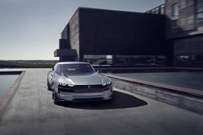 Peugeot E Legend Concept An Autonomous All Electric French Muscle