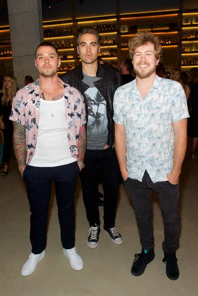 Matt Willis, Charlie Simpson and James Bourne