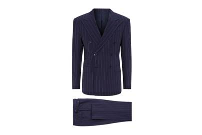 Pinstripe suit by Ralph Lauren Purple Label