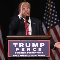 27 July 2016: Trump encourages Russia to find Clinton emails
