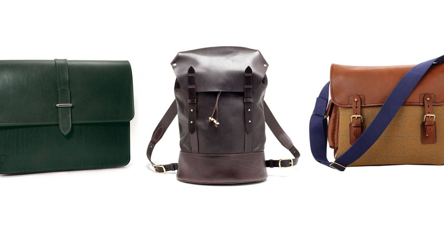 7a21d128408f Nine of the best British-made bags around