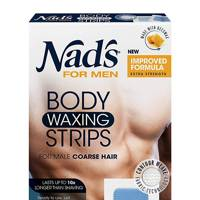 Body Waxing Strips by Nad's For Men